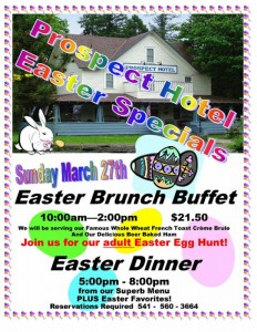 Easter Sunday Brunch and Dinner