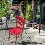 Red Chair in Carlton