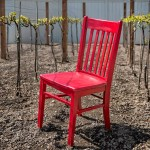 Carlton and Red Chair