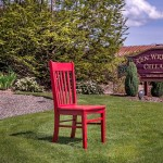 Red Chair at Ken Wright Cellars