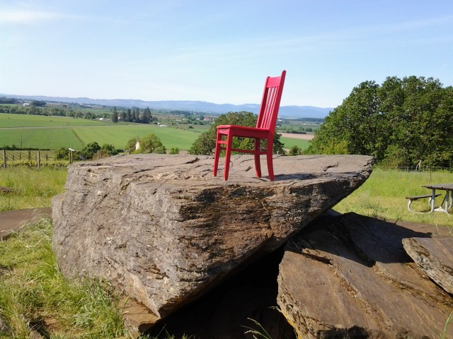 Erratic Rock in the Willamette Valley