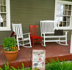 Feller House Porch