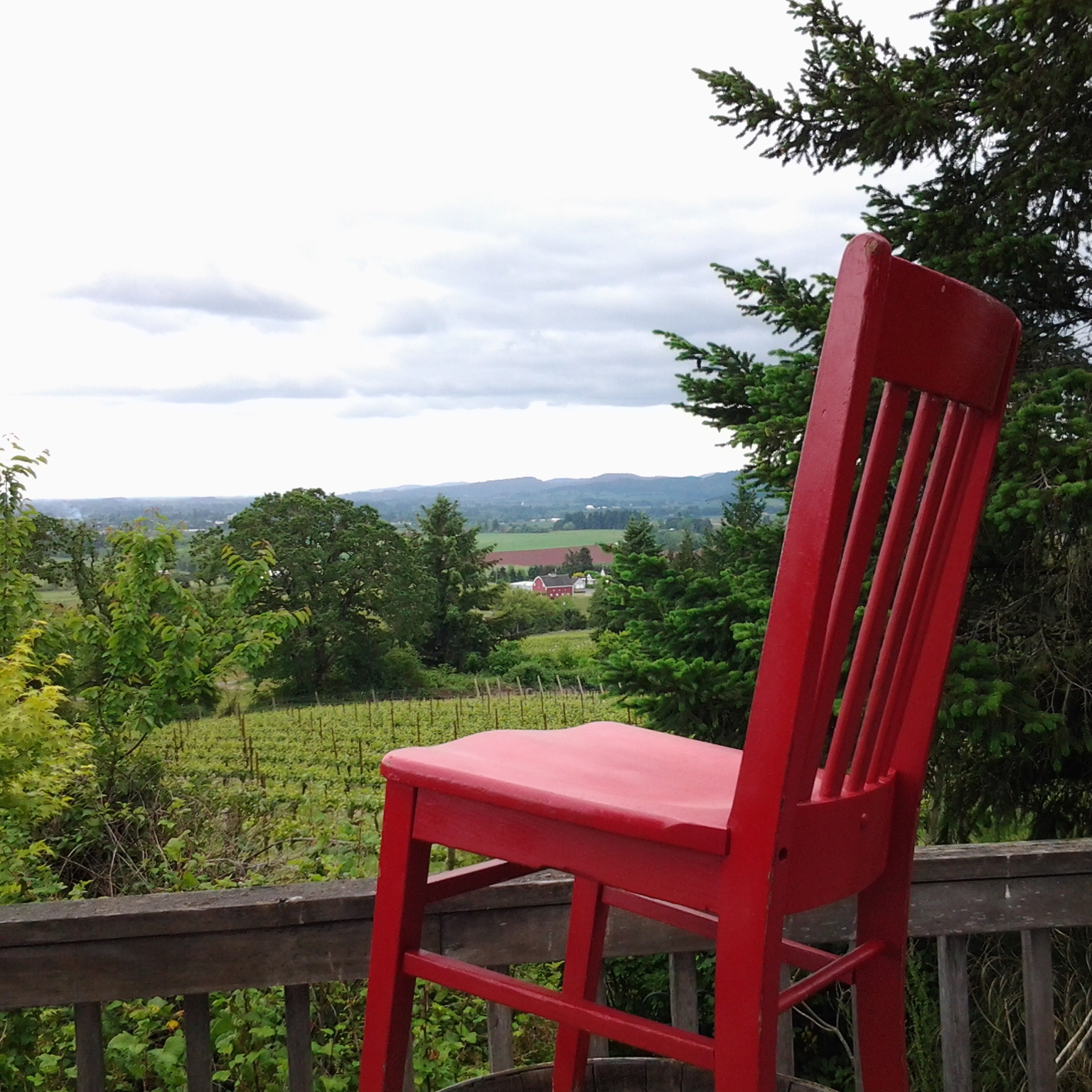 Commanding views of the Willamette Valley