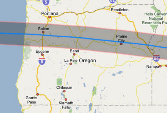 Total Solar Eclipse 2017 Where to Be in Oregon