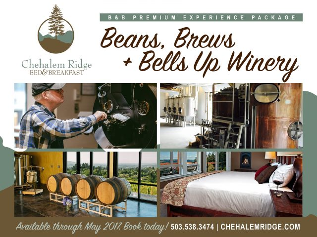 Beans, Brews and Bells Up Winery