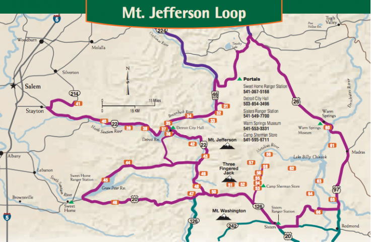 Mt Jefferson Loop