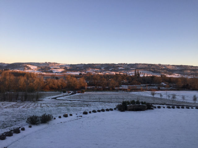 Winter Romance at Le Puy A Wine Valley Inn
