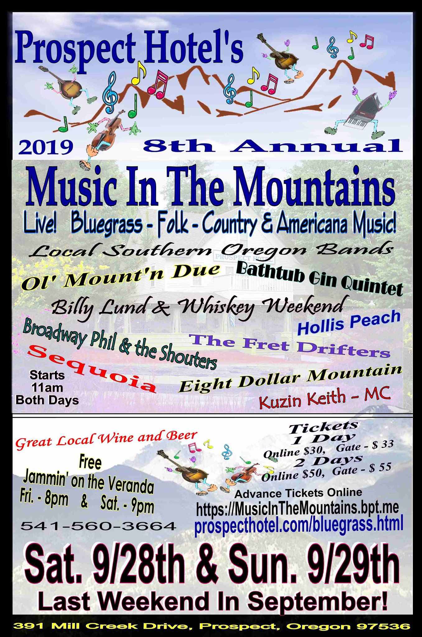 Music in the Mountain