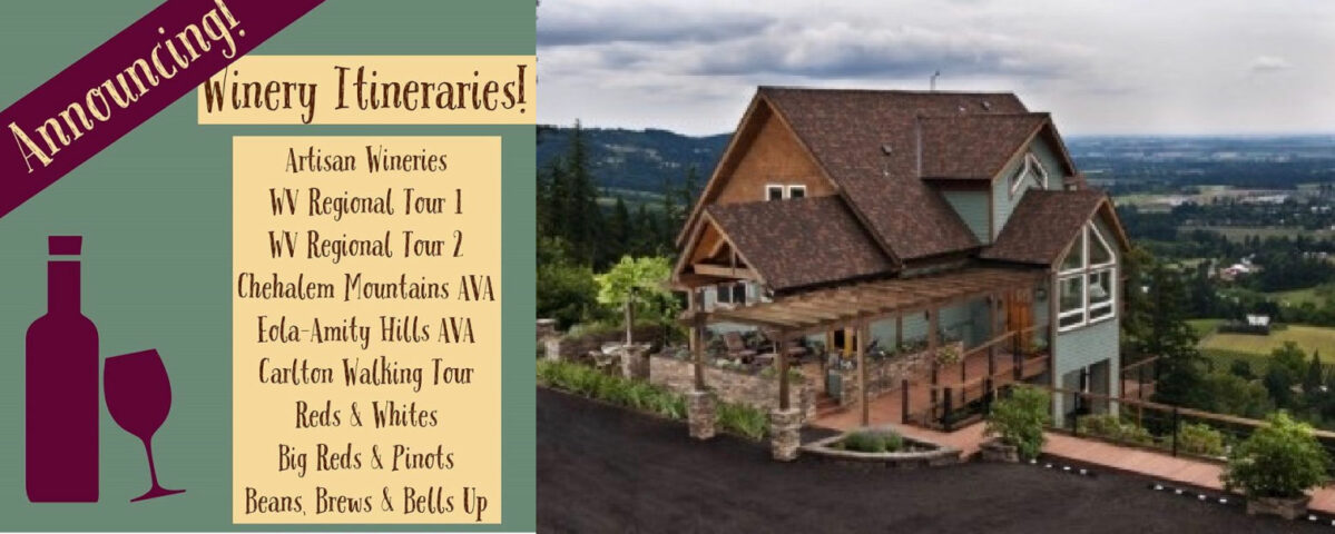 Winery Itinerary Service Chehalem Ridge