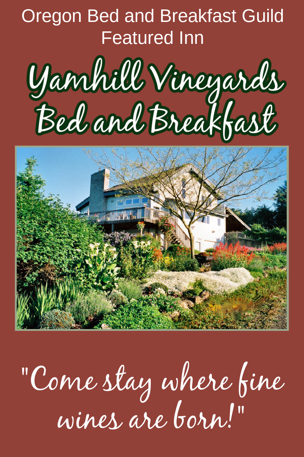 Yamhill Vineyards Bed and Breakfast