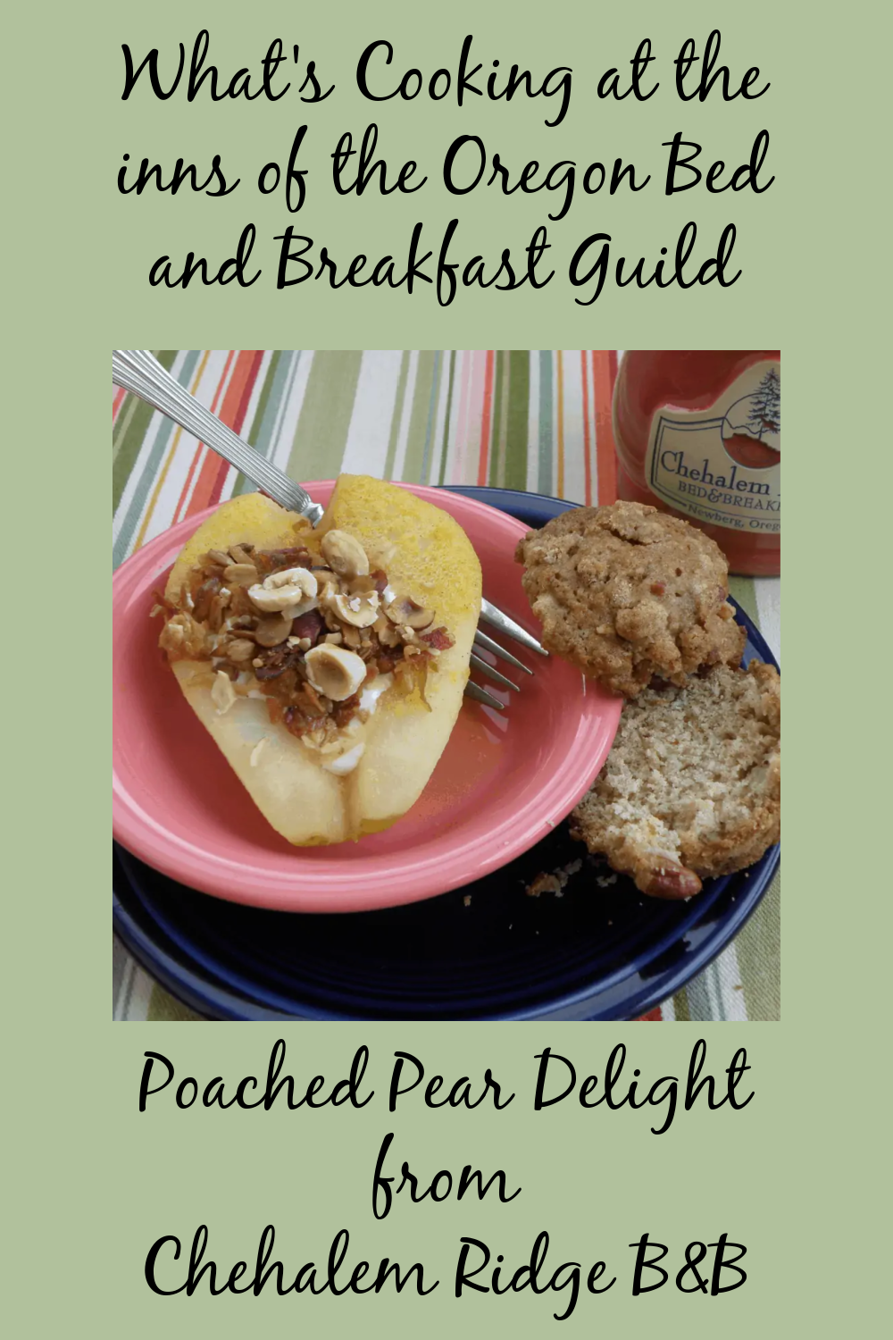 Poached Pear Delight