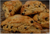 Glutten Free Scones, a speciality at Chehalem Ridge Bed and Breakfast.