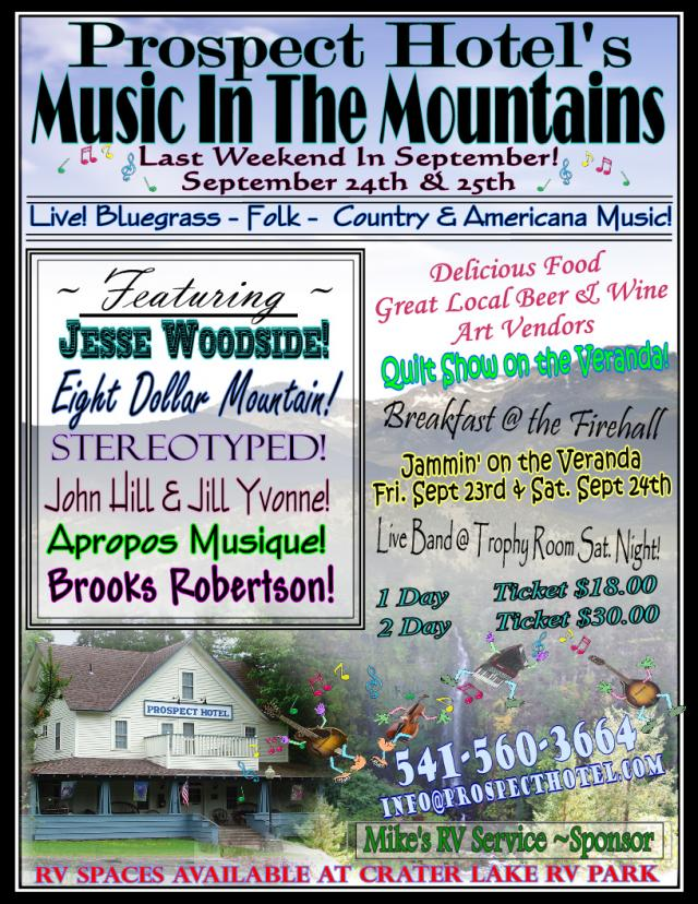 Prospect Hotel's Music in the Mountains