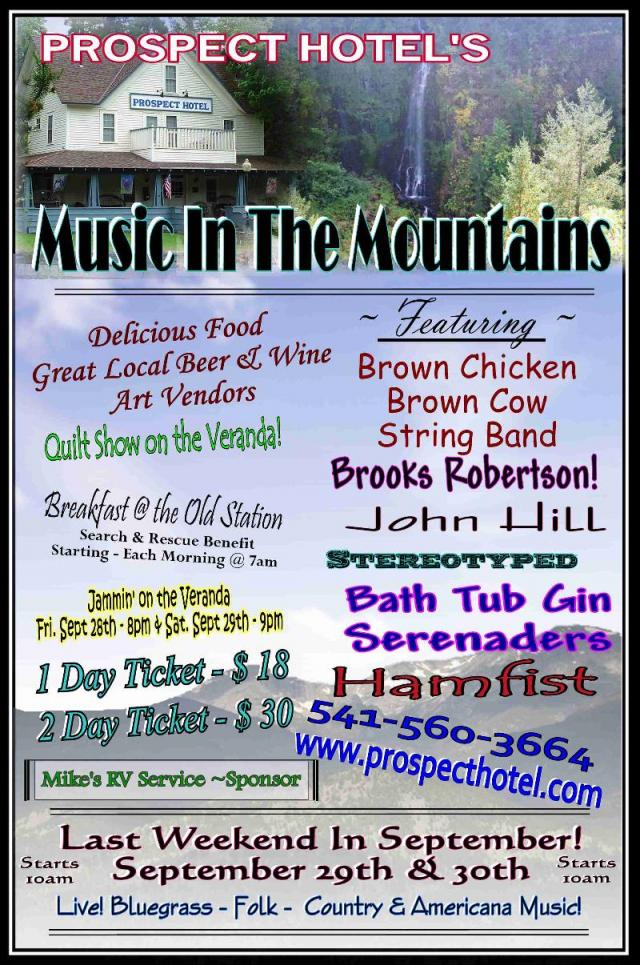 Southern Oregon Music in the Mountains