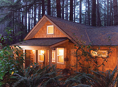 WildSpring Guest Habitat Port Orford Oregon
